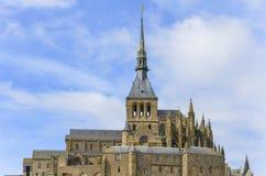 Mont-Saint-Michel Photos stock