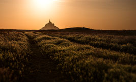 Mont Saint Michel Imagem de Stock Royalty Free