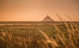Mont saint michel Obrazy Royalty Free