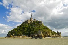 Mont Saint Michel Stock Photo