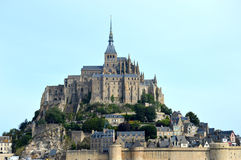 Mont Saint-Michel Image stock