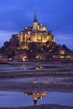 Mont Saint Michel Fotos de archivo