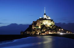 Mont-Saint-Michel stock photography