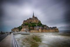 Mont Saint-Michel lizenzfreies stockbild