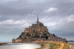 Mont Saint Michel. At Normandy region, France Stock Photography