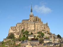 Mont Saint-Michel. In France Royalty Free Stock Images