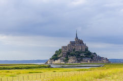 Mont Saint-Michel Stockbild