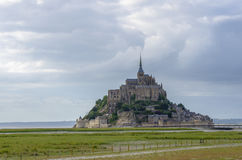 Mont Saint-Michel Stockfotos