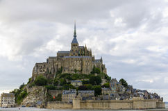 Mont Saint-Michel Stockbilder