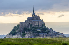 Mont Saint-Michel Lizenzfreies Stockfoto