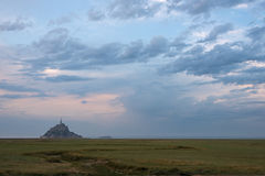 Mont Saint Michel Images libres de droits