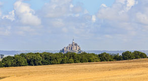 Mont saint michel obraz royalty free