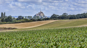 Mont Saint Michel Fotografía de archivo