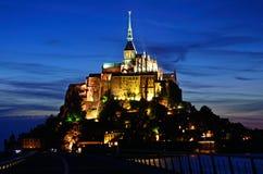 Mont Saint-Michel Imagen de archivo libre de regalías