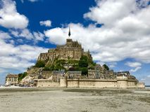 Mont Saint Michel Fotos de Stock Royalty Free