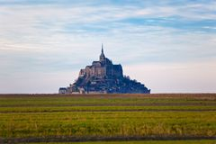 Mont Saint-Michel abbey Stock Images