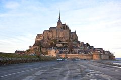 Mont Saint-Michel abbey Stock Image