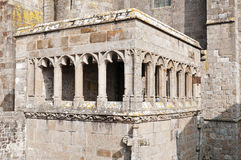 Mont Saint Michel abbey Stock Photos
