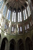 Mont Saint Michel abbey Stock Photo