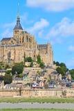 Mont Saint Michel Abbey Royalty Free Stock Photos