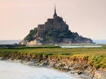 Mont Saint Michel Abbey Foto de archivo