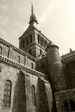 Mont Saint-Michel abbey Royalty Free Stock Images