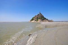 Mont Saint Michel Abbey en Normandía Fotografía de archivo libre de regalías