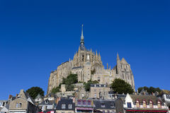 Mont Saint Michel Abbey. France Royalty Free Stock Images
