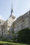 Mont Saint Michel Abbey, France Royalty Free Stock Photography