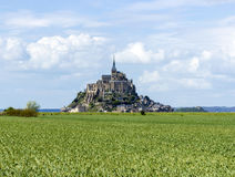 Mont Saint Michel Abbey, Normandy / Brittany, France Stock Image