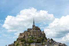 Mont Saint Michel Abbey, Normandy / Brittany Stock Photography