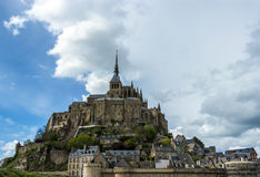 Mont Saint Michel Abbey, Normandy / Brittany Royalty Free Stock Photo