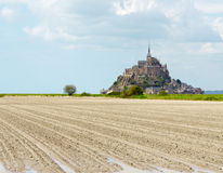 Mont Saint Michel Abbey, Normandy / Brittany, France Stock Images