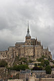 Mont Saint Michel abbey, Normandy, France Stock Photos