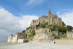 Mont Saint-Michel Abbey Stock Image