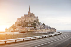 Mont Saint Michel abbey Royalty Free Stock Photography
