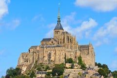 Mont Saint Michel-Abtei Lizenzfreie Stockbilder