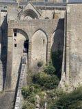 Mont Saint Michel-Abtei, Frankreich Lizenzfreies Stockbild