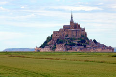 Mont Saint-Michel Stock Photo