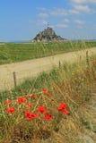 Mont Saint Michel Brittany France Stock Photo