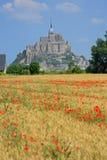 Mont Saint Michel Brittany France Stock Image