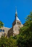 Mont Saint Michel Brittany, Francia Immagine Stock Libera da Diritti