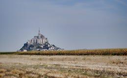 Mont Saint Michel castle Royalty Free Stock Photo