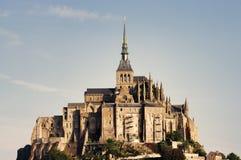 Mont Saint Michel castle Royalty Free Stock Photos