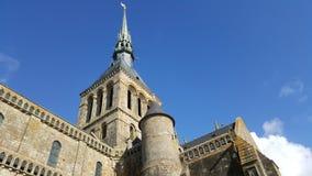 Mont Saint Michel Castle Royalty Free Stock Images