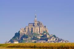 Mont Saint Michel castle Stock Image