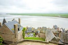 Mont Saint Michel dans les Frances Photos stock