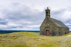 Mont Saint-Michel de Brasparts, Monts d`Arree Royalty Free Stock Images