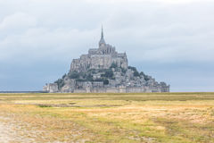 Mont Saint Michel del campo Imagen de archivo