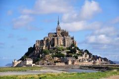 Mont Saint Michel en Francia Fotografía de archivo